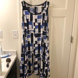 Jones New York Pattern Dress